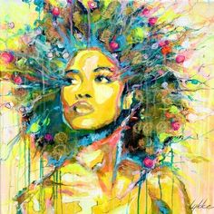 "How I Love This!  Saatchi Art Artist Lykke Steenbach Josephsen; Painting, ""No title - Original Sold"" #art"