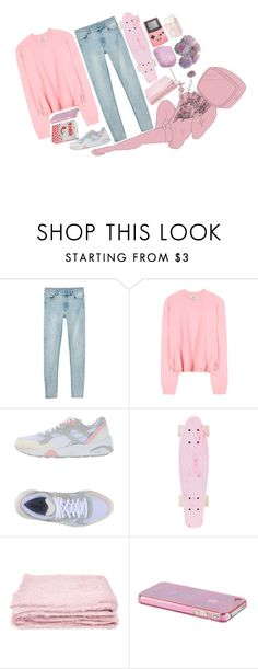 """""""♡we don't believe what's on tv♡"""" by cottoncandyprince ❤ liked on Polyvore featuring Monki, Acne Studios, Puma, abcDNA, Pink, pastel and twentyonepilots"""
