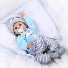 Baby Doll: NPK Collection Reborn Baby Doll realistic baby dolls 22 inch Vinyl Silicone Babies Doll Newborn real baby doll Cute boy >>> Continue to the product at the image link. Boy Baby Doll, Real Baby Dolls, Baby Doll Toys, Reborn Toddler Dolls, Realistic Baby Dolls, Newborn Baby Dolls, Toddler Toys, Reborn Babypuppen, Kids Toys