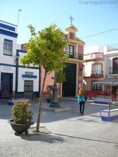 Plazuela de San Francisco, Isla Cristina Algarve, San Francisco, Spain, Sidewalk, Street View, Andalusia Spain, Islands, Europe, Cities