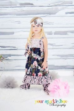 Ruffle Pants Pink and Gray Damask for Girls by BoutiqueElliEtte, $19.95