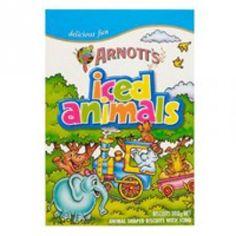 Arnotts Biscuits Iced Animals pkt 200g - yum!