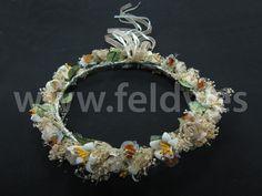 Corona comunión niña Flores 03