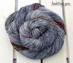 by Lambstrings on Etsy Hand Dyed Yarn, Sadie, Spinning, Sock, Merino Wool, Knit Crochet, Fiber, Textiles, Knitting