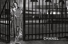 Gisele Bundchen - (black and white) Chanel S/S 2015 campaign for Karl Lagerfeld in Paris, 2015 (11)