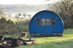 21st century Nissen hut from Cabin Habit
