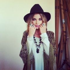 Bohemian-Lifestyle love the look