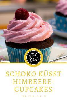 Diese Kombination von Himbeere und Schoko ist einfach unwiderstehlich! Jeder der gerne Cupcakes nascht sollte das unbedingt mal ausprobieren!
