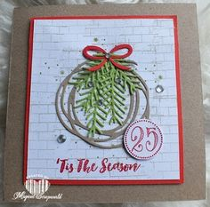 Magical Scrapworld, 't is the season, 2016, cards, christmas, christmas pines, ghoulish grunge, merriest wishes, Stampin' Up!, Swirly scribbles