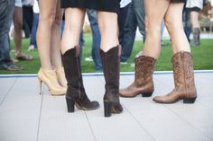 Before I Do Events texan going away party, cowboy boots, legs, southern, denim, shoes, style, www.beforeidoevents.com