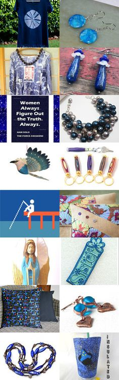 True Blue by Suzanne Edwards on Etsy--Pinned+with+TreasuryPin.com