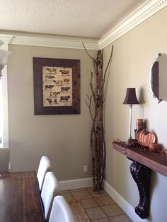 Wall color - Behr Castle Path color matched by Miller Paint