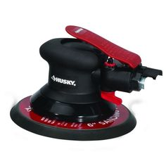 Husky 6 In. Low Vibration Air Driven Surface Prep Palm Disc Sander Tool #Husky