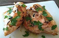 Chicken & Shallots - looks delicious