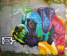 Günter Tauchner (Moderator) via Street Art from the world community shared this Fab piece by #OCD on Google+ ♥•♥•♥