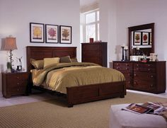 Diego Panel Bedroom Collection   Wayfair