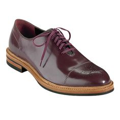 Cole Haan Hawkins Oxford - burgundy men's shoes