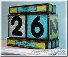 Wooden Perpetual Calendar Template  Google Search  Things For My