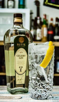 Rutte Celery Gin im Gin Tonic.
