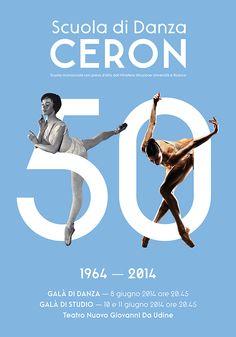 Ceron Dance School - Posters Design on Behance — Designspiration