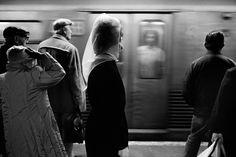 Veiled Woman, NYC, 1984
