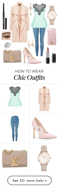 """""""Spring look"""" by yuliasoldiun on Polyvore featuring ROSEFIELD, Nine West, Topshop, City Chic, Tiffany & Co., LC Lauren Conrad, Louis Vuitton, Mary Kay, Stila and Bling Jewelry Fancy Dress Outfits, Chic Outfits, Fall Outfits, Fashion Outfits, Online Shopping Clothes, Clothes For Sale, Clothes For Women, Outfit Online, New Fashion Clothes"""