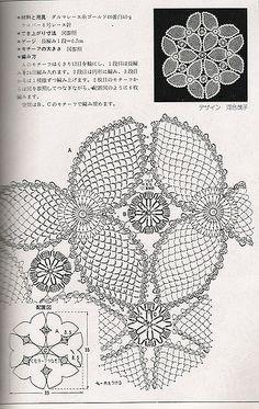 World crochet: Motive 100 Crochet Doily Diagram, Crochet Motif Patterns, Freeform Crochet, Crochet Chart, Thread Crochet, Crochet Designs, Crochet Doilies, Crochet Flowers, Crochet Stitches
