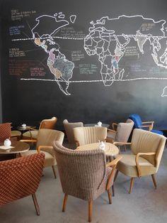 24 grad hannover koffietentje | Cafe | Worldmap | Germany | Deutschland | Citytrip