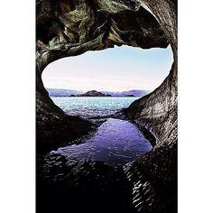 Heres to the wonder of natures raw beauty. Incredible marble caves in Chile.  #RawBeauty La splendeur de la nature a letat brut. Cette caverne de marbre au Chili est incroyable.