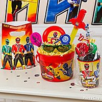 Power Rangers Party Favor Ideas - Click to View Larger
