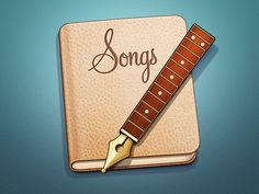 Songs Mac App Icon by Ramotion (Palo Alto, CA)