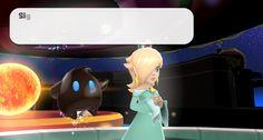 Super Mario Galaxy 1080p - Princesa Rosalina