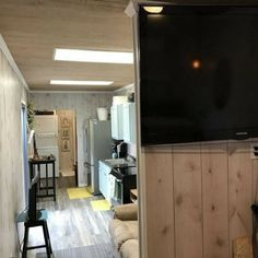 A 320 sq ft shipping container home, available for sale in Beaumont, Texas. Storage Container Homes, Storage Containers, Reefer Container, Shipping Container Home Builders, Shipping Containers, Tiny House Big Living, Container Buildings, Container Houses, Home Storage Solutions