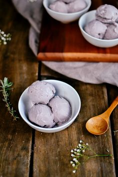 earl grey lavender ice cream — the farmer's daughter