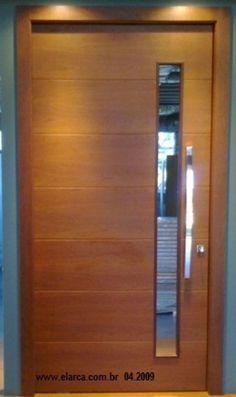 porta madeira com vidro - Pesquisa Google