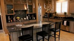 """Neutral kitchen. ....EXTREME MAKEOVER HOME EDITION - """"Broadbent Family,"""""""
