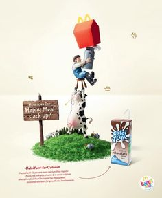 McDonald's: Happy Meal CalciYum | Ads of the World™