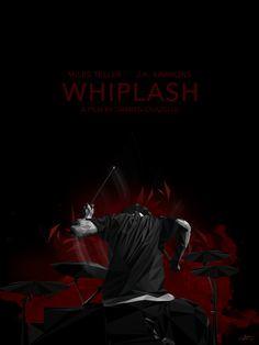 """""""Whiplash"""" (Damien Chazelle 2014). Interesante. El amor por la música como excusa para el que maltrata y para el que se deja maltratar."""