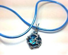 Electrode Necklace  Lightingbolt Necklace  Lightning by JBellsGems, $20.00
