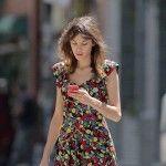 Alexa Chung inspired by Charlotte Rampling -