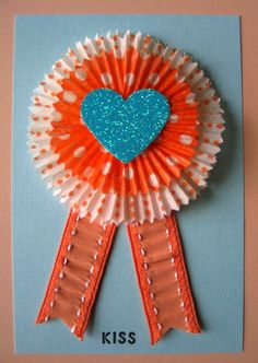 Cupcake Liner State Fair Ribbon - See how they were made at Urban Comfort