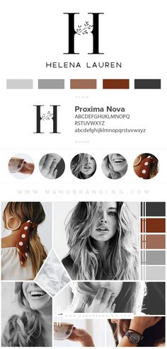Logo. Branding. Feminine. Black . Professional Business Branding by Manu branding. Logo, Mood Board, Beauty, Brand Boards.