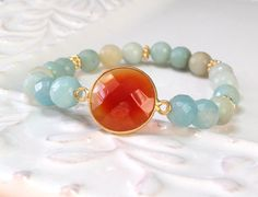 Hey, I found this really awesome Etsy listing at https://www.etsy.com/listing/217867912/amazonite-stretch-bracelet-gold-vermeil
