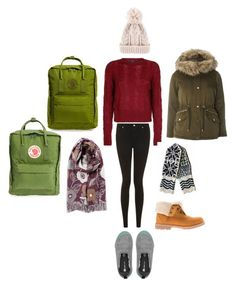 """Winter Wishlist!"" by pippahoel on Polyvore featuring Fjällräven, Timberland, Topshop and Dorothy Perkins"