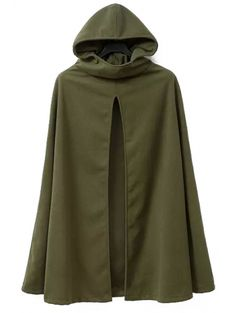 SHARE & Get it FREE | Hooded Cape Design Army Green CoatFor Fashion Lovers only:80,000+ Items • New Arrivals Daily Join Zaful: Get YOUR $50 NOW!