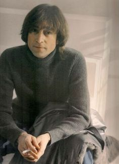 John Lennon (November 26, 1980). So sad this is a little while before he dies.