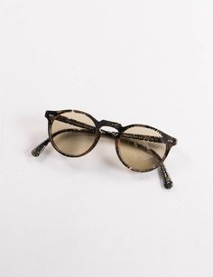 2e71194d94c Oliver Peoples Alain Mikli Palmier Chocolat Gregory Peck 30th Anniversary  Sunglasses