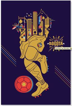 I love the creativity of actively playing soccer and on top of it is a city where they are playing. #web5