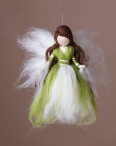 Image gallery – Page 473652085786248347 – Artofit Wool Dolls, Felt Dolls, Diy Arts And Crafts, Felt Crafts, Felt Angel, Fairy Crafts, Needle Felting Tutorials, Felt Fairy, Felt Patterns