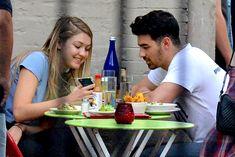 Gigi Hadid and Joe Jonas Spotted Sharing a Kiss in NYC